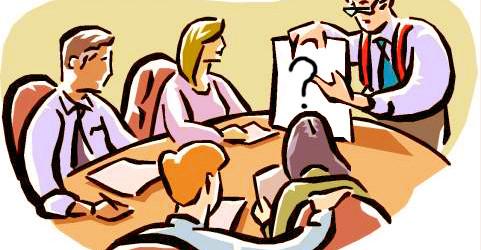 riunione interrogativa